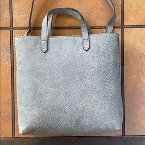 NWT MADEWELL ZIP TOP TRANSPORT TOTE